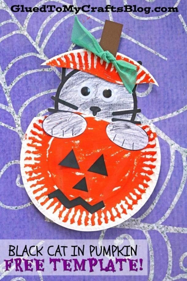 15 métiers de citrouille d'Halloween mignons et faciles pour les enfants (partie 1)