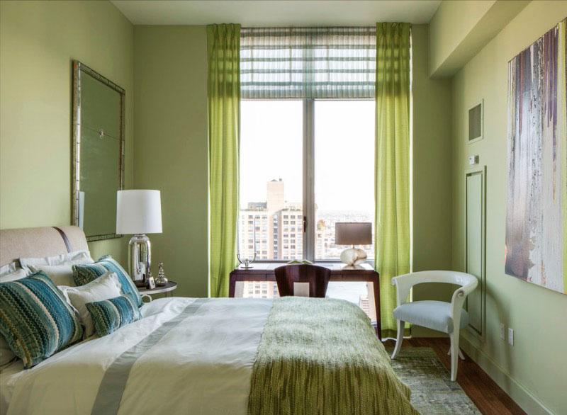 """green-room """"width ="""" 800 """"height ="""" 586 """"srcset ="""" https://decoralert.com/wp-content/uploads/2019/10/1572298260_295_Deco-12-meilleures-idees-de-peinture-de-chambre-a.jpg 800w, https://freshome.com/ wp-content / uploads / 2015/06 / green-room-300x220.jpg 300w, https://freshome.com/wp-content/uploads/2015/06/green-room-539x395.jpg 539w """"tailles ="""" ( largeur max: 800px) 100vw, 800px """"/> </div> </div> <p>Utiliser la chromothérapie dans votre chambre à coucher est aussi simple que de peindre les murs. Si vous envisagez des couleurs vives et que vous souhaitez vous faciliter les choses, commencez petit Peignez un seul mur, ajoutez des rayures ou utilisez la couleur choisie comme couleur d'accent. Partagez avec nous, quelle couleur de personnalité avez-vous choisi?</p>                             </div></pre>  <!-- WP QUADS Content Ad Plugin v. 2.0.10.1 --> <div class="""