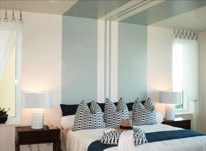 """ceiling-stripe """"width ="""" 800 """"height ="""" 589 """"srcset ="""" https://decoralert.com/wp-content/uploads/2019/10/1572298260_618_Deco-12-meilleures-idees-de-peinture-de-chambre-a.jpg 800w, https://freshome.com/ wp-content / uploads / 2015/06 / ceiling-stripe-300x221.jpg 300w, https://freshome.com/wp-content/uploads/2015/06/ceiling-stripe-537x395.jpg 537w """"tailles ="""" ( largeur max: 800px) 100vw, 800px """"/> </div> </div>   <h2><b>Effet lumineux</b></h2> <p>Un simple projet de bricolage qui aura un impact important dans une chambre peinte est un variateur mural. Les gradateurs sont peu coûteux et aident à créer le bon éclairage <span style="""