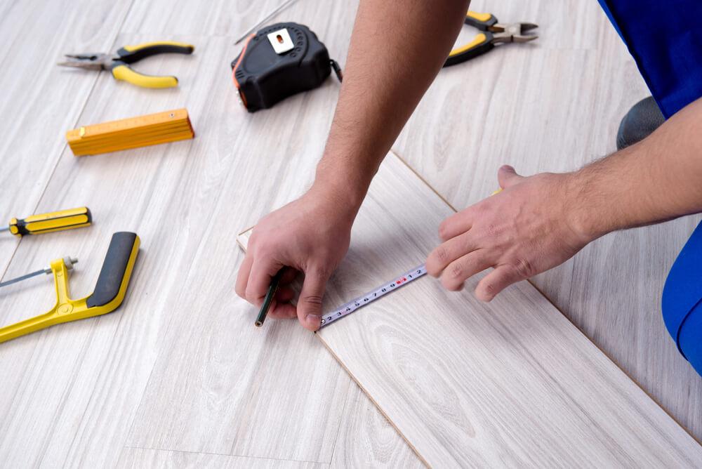 Plancher stratifié de bricolage