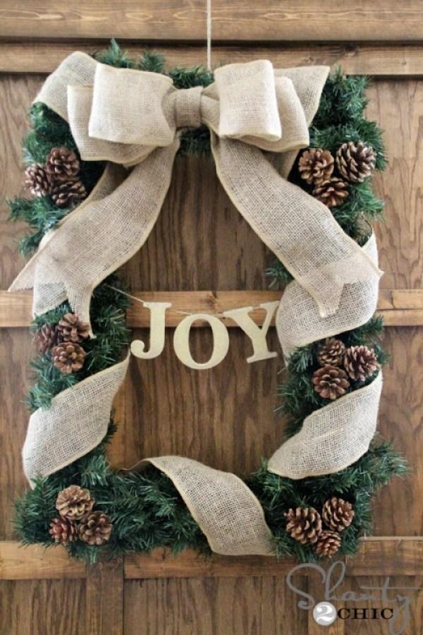 15 idées de guirlande de Noël bricolage (partie 2)