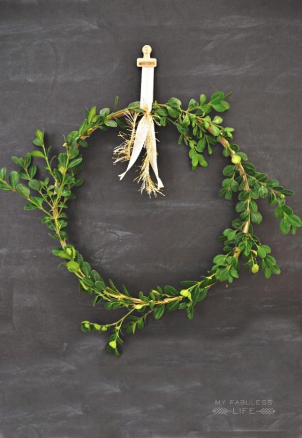 15 couronnes de Noël bricolage parfaites à la ferme