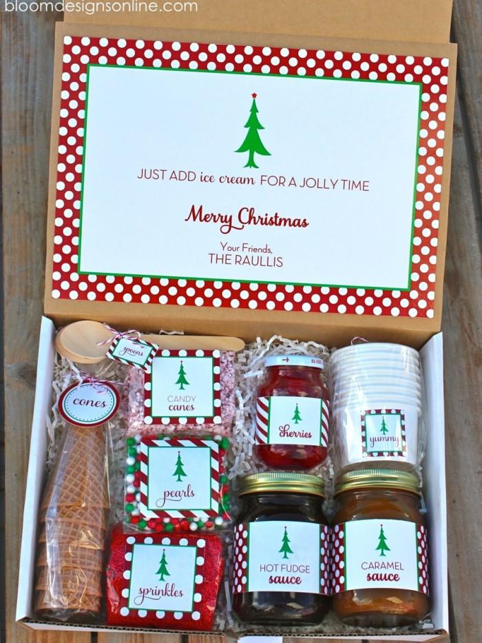 "15 idées de paniers-cadeaux créatifs pour Noël ""width ="" 510 ""height ="" 680 ""data-jpibfi-post-excerpt ="""