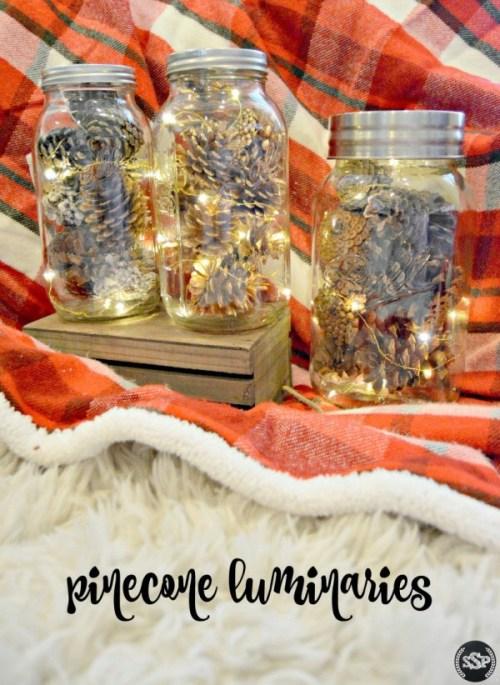 15 bougies et luminaires de vacances rustiques bricolage