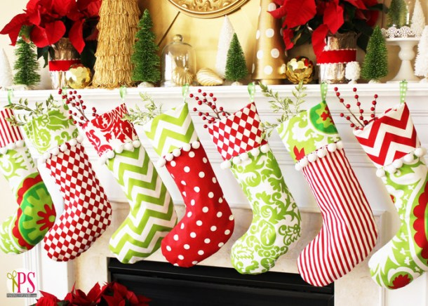 15 bas de Noël faits main faciles (partie 2)