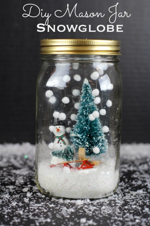 15 idées d'artisanat de Noël Mason Jar