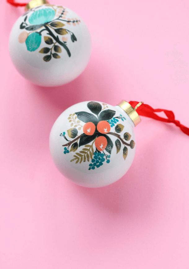 15 décorations de Noël à faire soi-même cette année