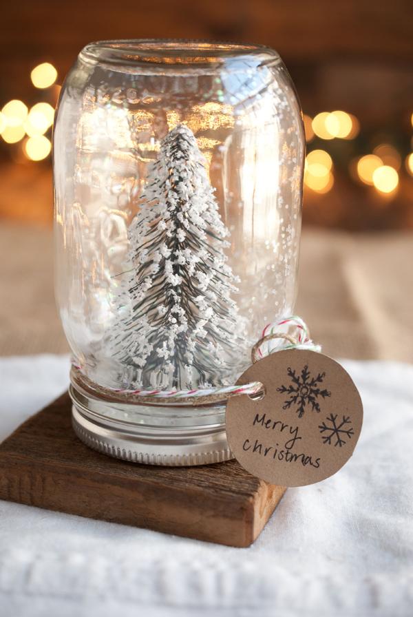 15 projets de bricolage magiques de Noël Mason Jar