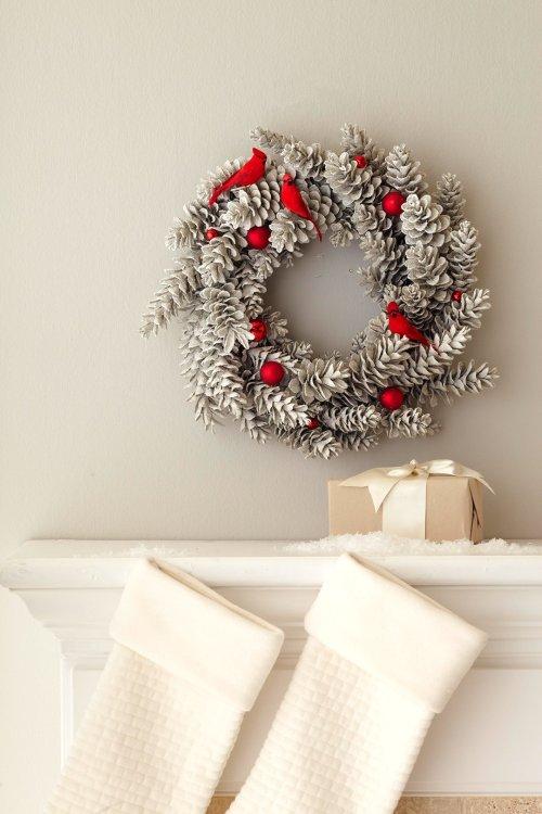 17 idées de guirlande de Noël rustique bricolage cool