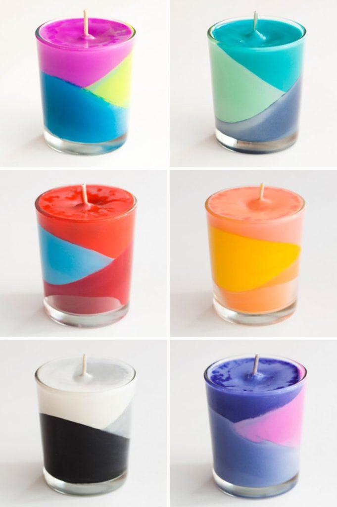 15 bougies parfumées faciles à bricoler
