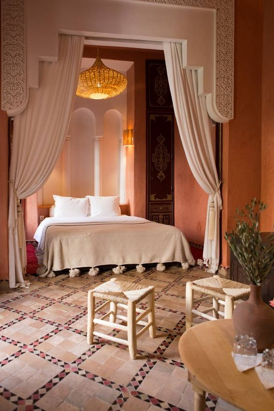 Chambres de style arabe
