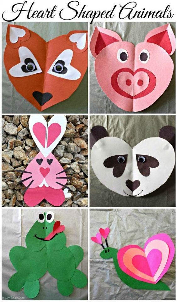 15 artisanats faciles pour la Saint Valentin pour les enfants (partie 2)
