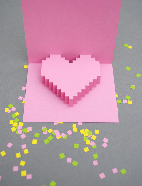 15 idées de cartes de Saint Valentin créatives