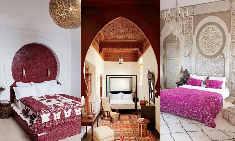Chambre marocaine ou arabe, photos et idées