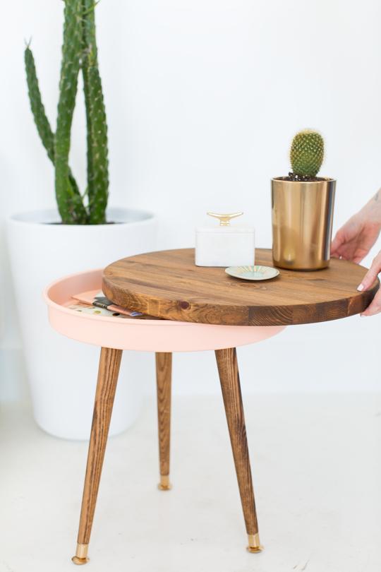 10 plans et idées de tables de bout de bricolage
