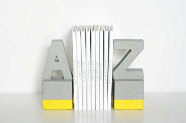 14 serre-livres de bricolage cool qui sont faciles à faire
