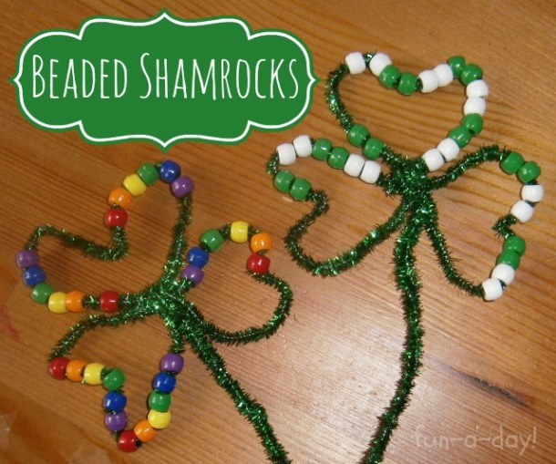 Lucky Shamrock Crafts for Kids to Make this St.Patricks Day (Part 2)