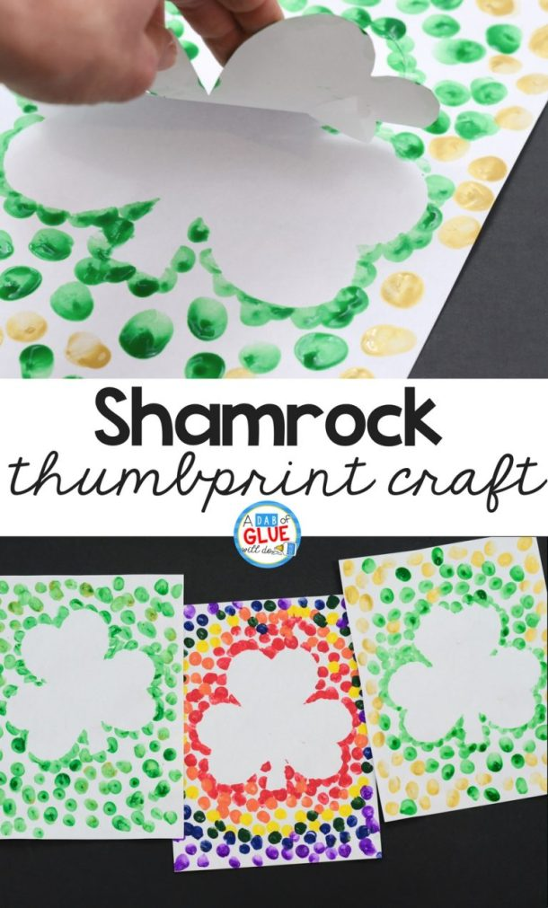 Lucky Shamrock Crafts for Kids to Make this St.Patricks Day (Part 1)