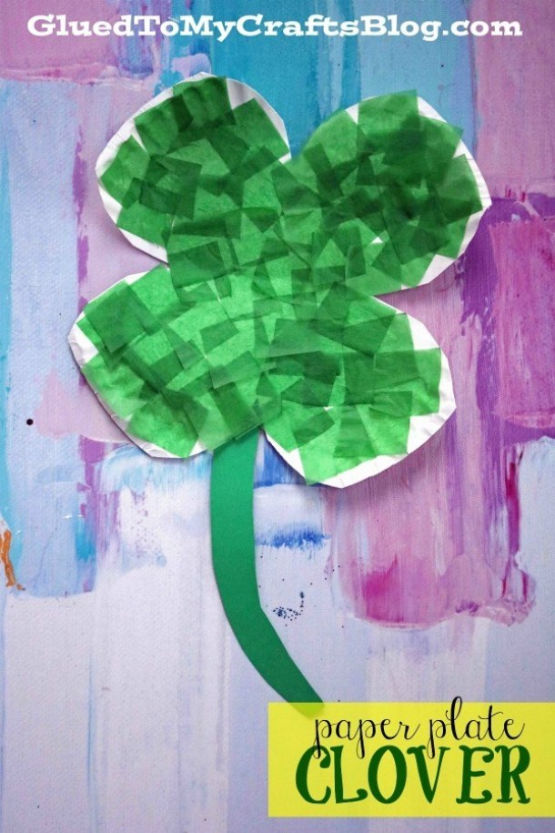 Lucky Shamrock Crafts for Kids to Make this St. Patrick's Day (Part 3)