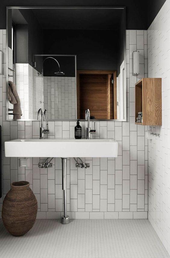 Carrelage tendances salles de bain
