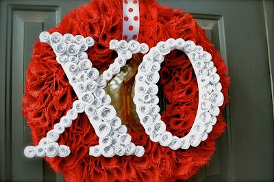 Belles conceptions de couronne de Saint-Valentin à la main (partie 2)