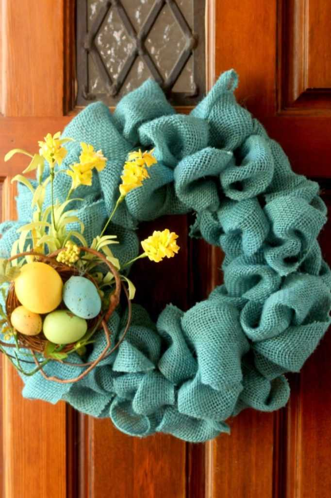 Couronnes de Pâques bricolage parfaites pour votre porte d'entrée (partie 2)