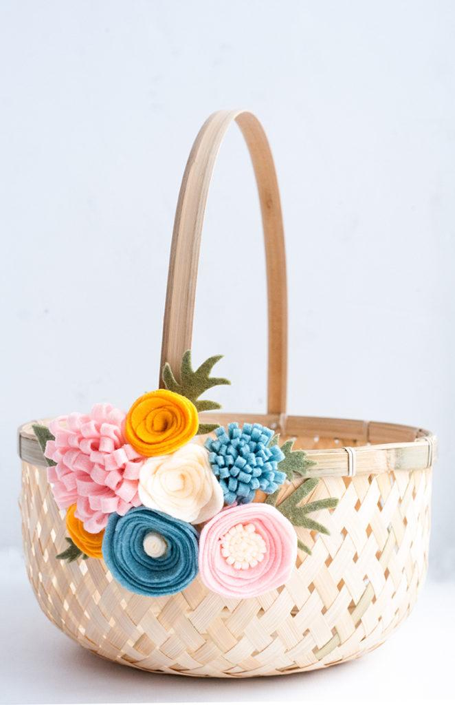 15 idées de panier de Pâques bricolage mignon et créatif