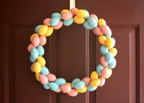 15 idées créatives de couronne de Pâques bricolage (partie 2)