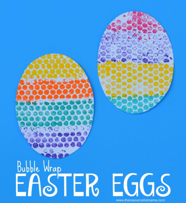 15 artisanats d'oeufs de Pâques amusants et créatifs pour les enfants et les tout-petits (partie 2)