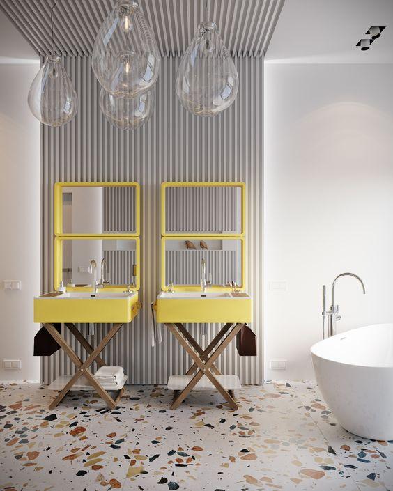 Renouveler le mobilier ou le robinet de la salle de bain