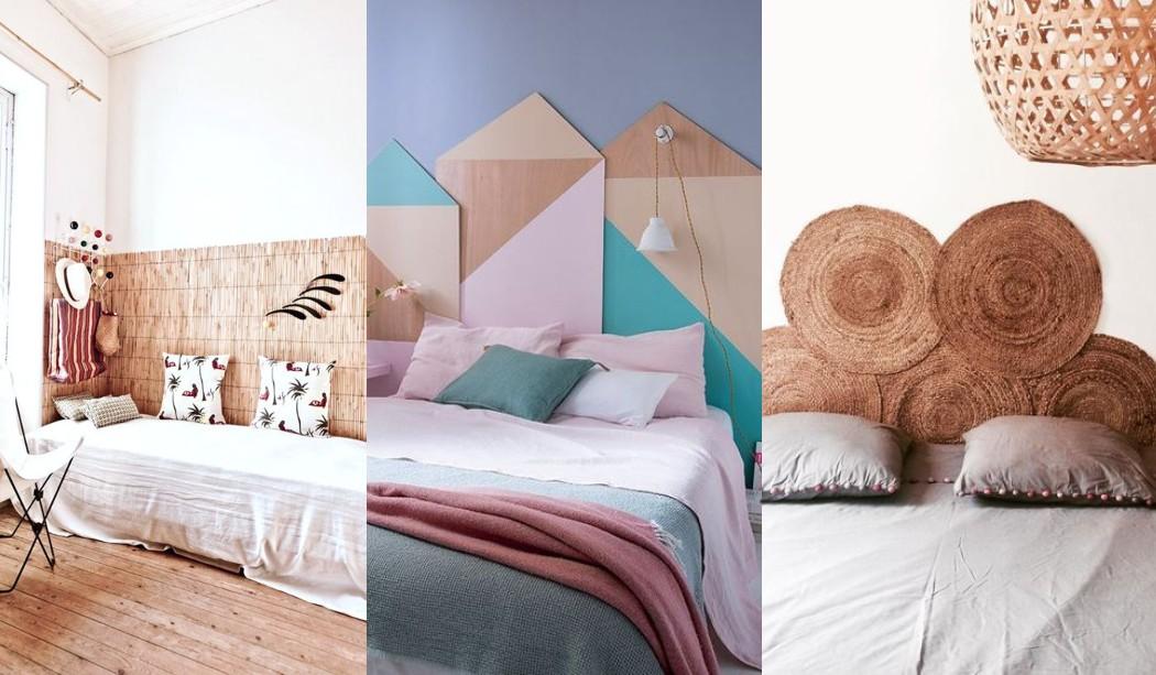 Têtes de lit originales, idées, propositions, photos