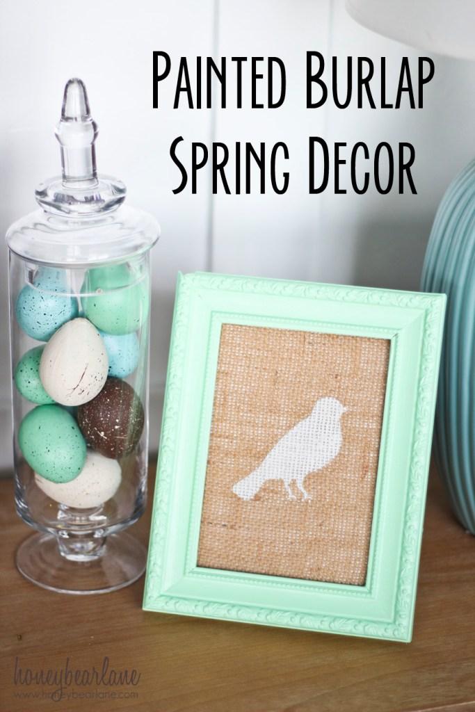 15 beau projet de décoration de printemps bricolage pour votre maison