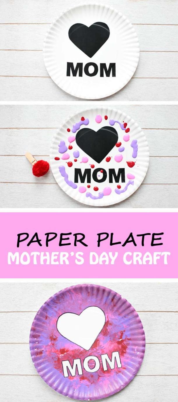 15 idées de bricolage pour la fête des mères pour les enfants (partie 6)