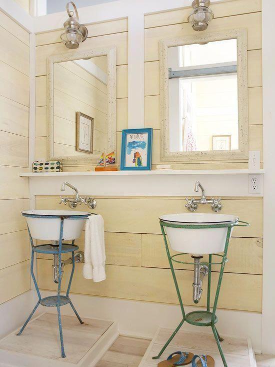 Des idées pour décorer les salles de bain provençales