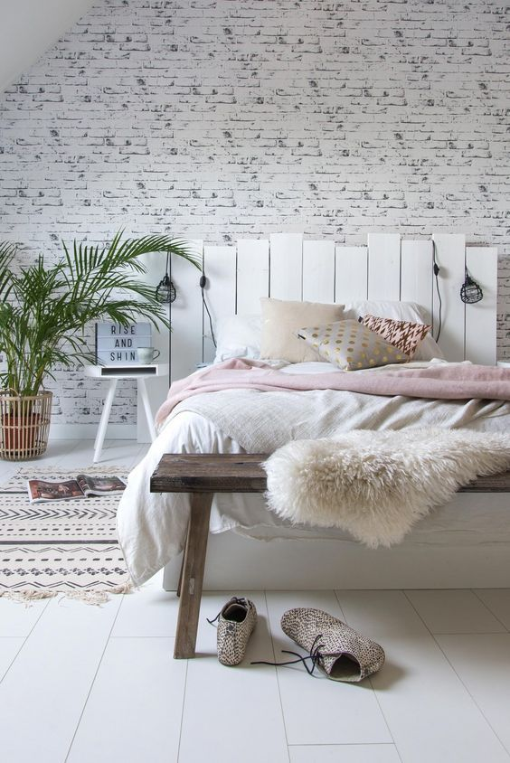têtes de lit en palettes