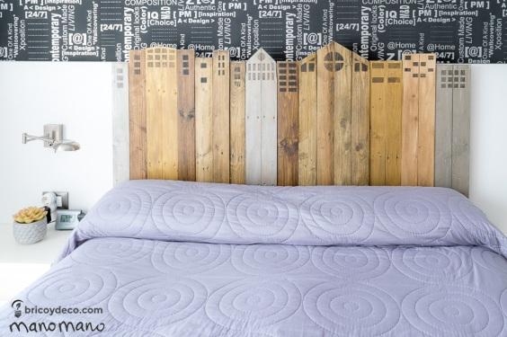comment faire une tête de lit de palette