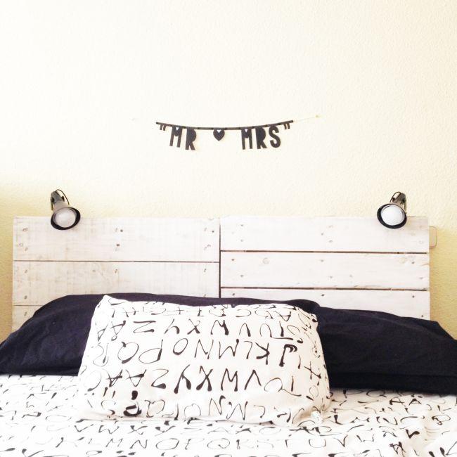 Comment faire des têtes de lit avec des palettes