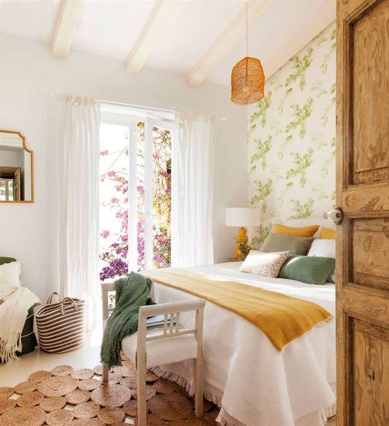 chambres de style romantique