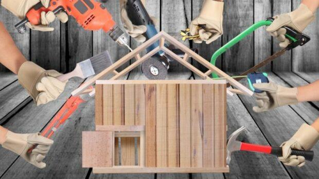 Où commencer à réparer votre maison