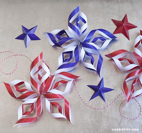 15 idées de décoration patriotique bricolage du 4 juillet (partie 2)