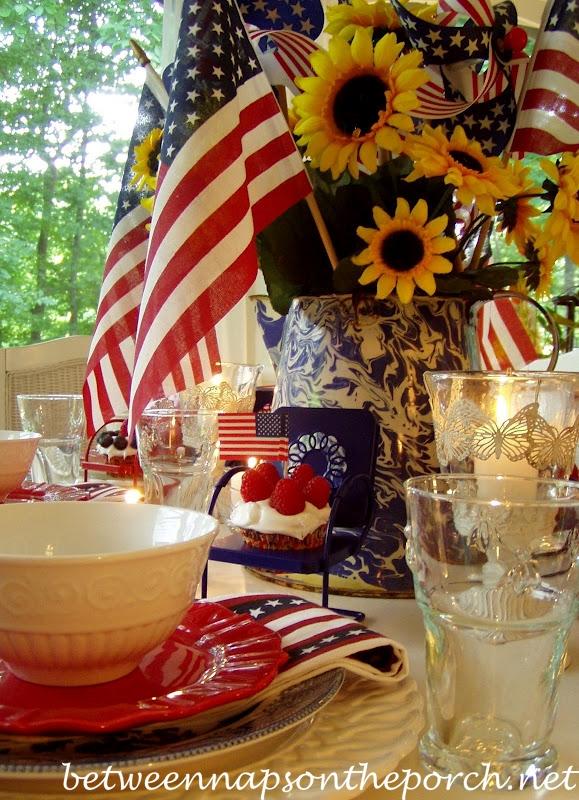 12 idées de décoration patriotique bricolage du 4 juillet (partie 7)