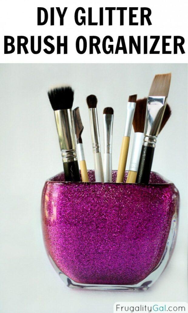 15 supports de brosse de maquillage bricolage cool et simple
