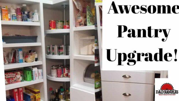 10 idées géniales pour la construction d'étagères d'un garde-manger