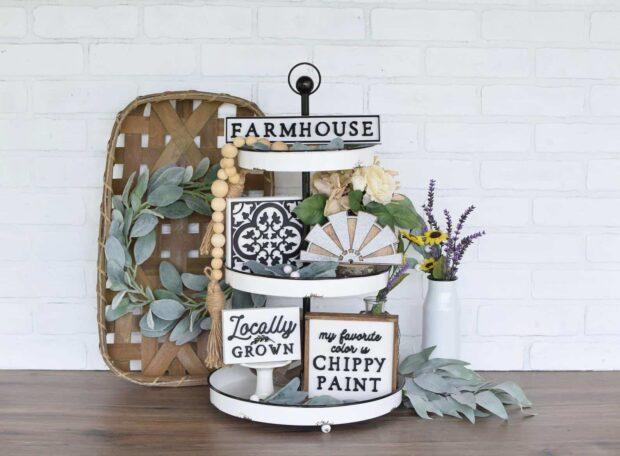 Idées de décoration de ferme bricolage bon marché et faciles