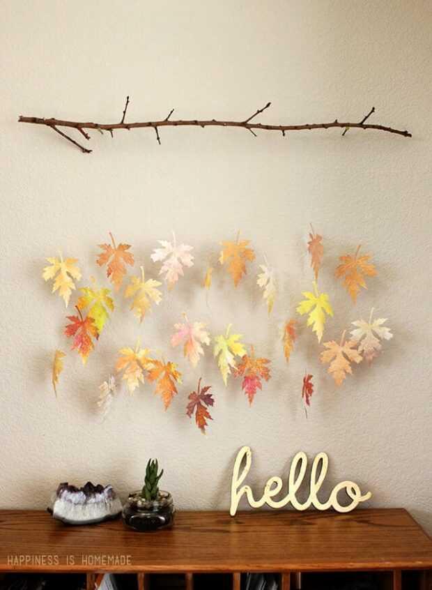 15 idées de décoration faciles à faire soi-même pour l'automne, partie 2