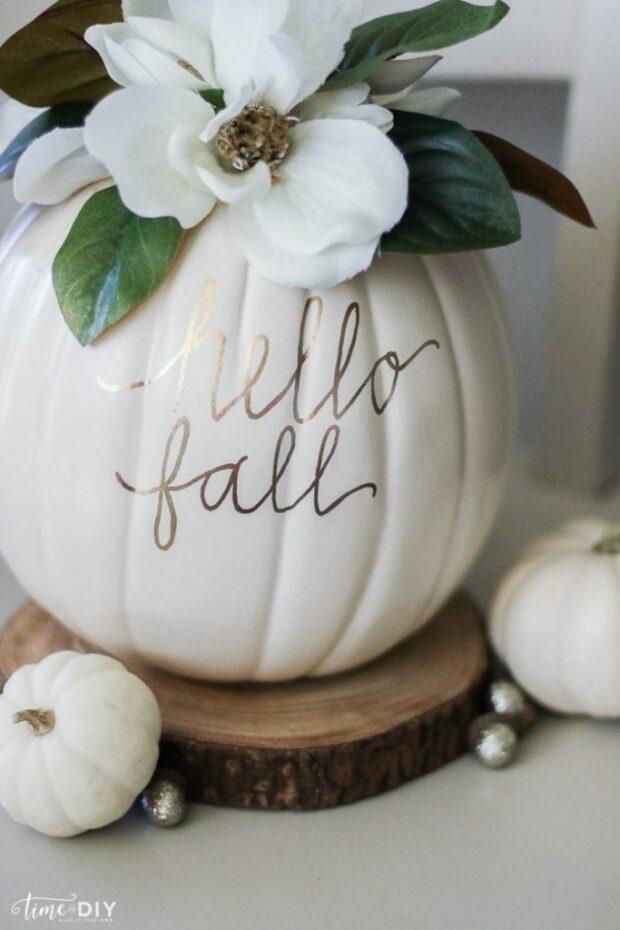15 idées de décoration faciles à faire soi-même pour l'automne, partie 1