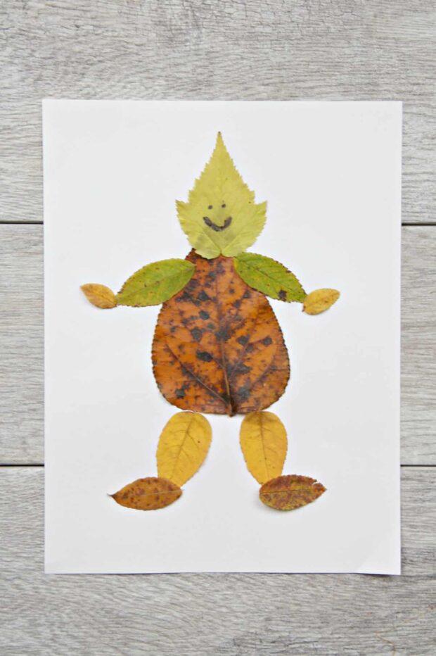 13 bricolages faciles à faire avec des feuilles d'automne