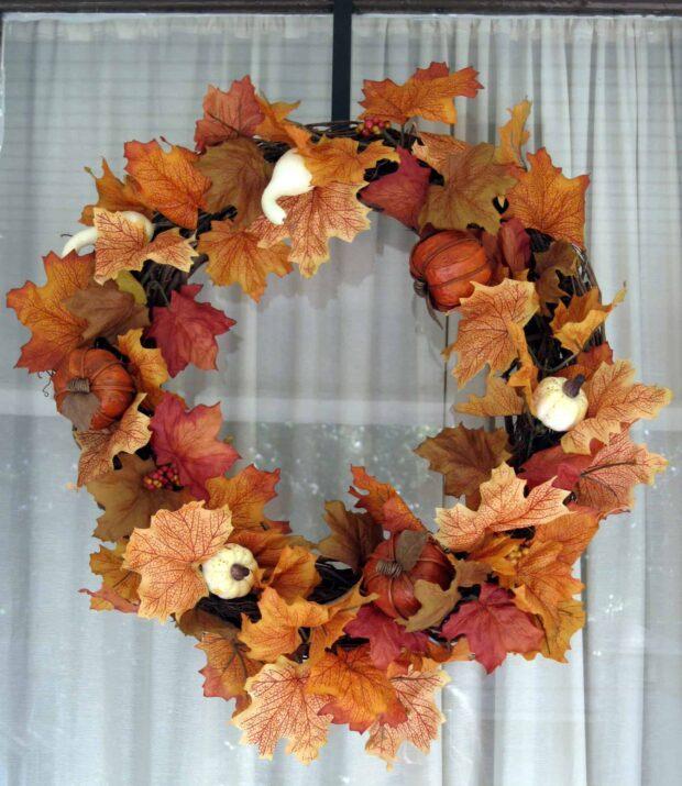 Couronnes d'automne que vous pouvez bricoler