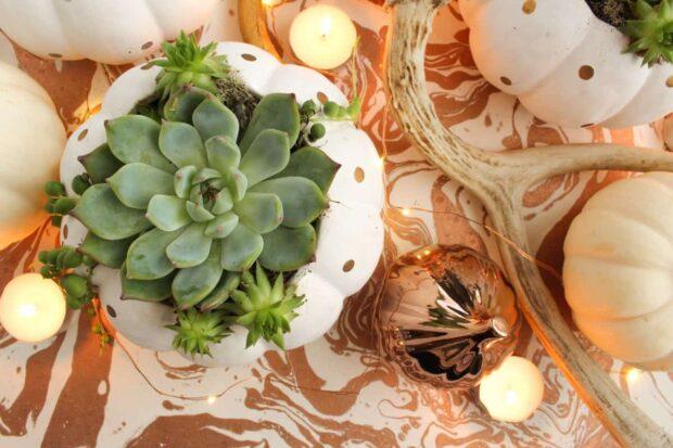 13 meilleures idées de pièce maîtresse d'automne bricolage pour 2020