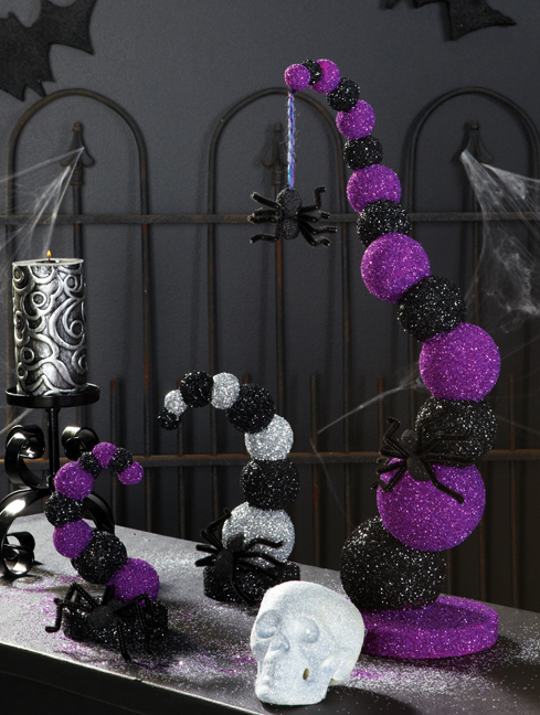 14 centres de table d'Halloween que vous pouvez facilement bricoler (partie 2) - centres de table d'Halloween, centre de table d'Halloween, centres de table de bricolage Halloween